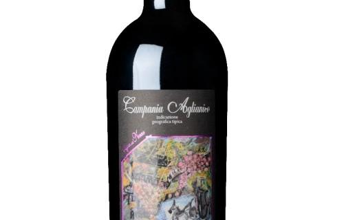 Campania Aglianico IGT 2014, Vino di Nonno Peppino